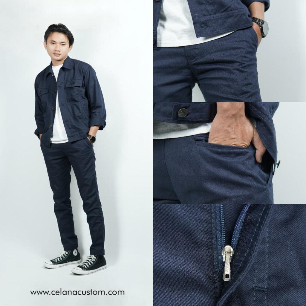 Celana Chino Custom